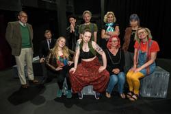 Jac (centre), The Audition, 2018