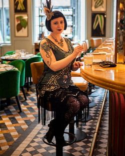 Gatsby Girl at The Ivy