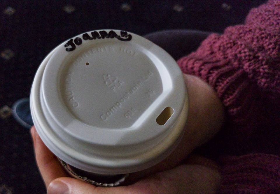 Even my coffee is friendly