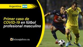 Futbolista profesional del Club Atlético Tigre dio positivo por COVID-19