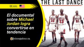 """The Last Dance"", el éxito de Michael Jordan rompe récord en vistas"