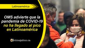 Latinoamérica ya supera los 100.000 decesos por COVID-19, más de la mitad se dieron en Brasil