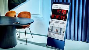 Samsung Sero, un televisor que gira en posición horizontal y vertical. ¡El sueño de los millennials!