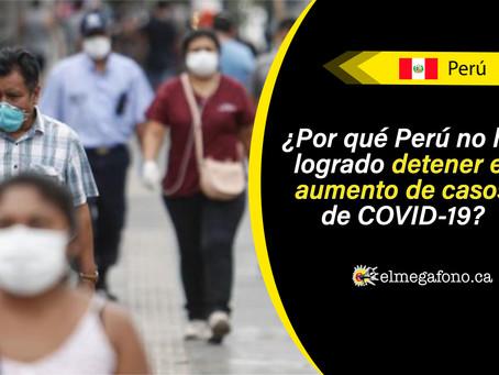 Perú ocupa el sexto lugar del país con más casos de COVID-19 a nivel mundial