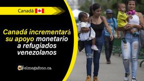 Canadá donará $ 27 millones a refugios venezolanos en medio de la pandemia de COVID-19