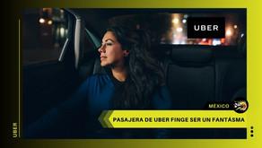 ¡Insólito! Pasajera de Uber fingió ser un fantasma para no pagar