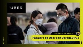 CoronaVirus: Uber suspende cientos de cuentas de usuarios en México por un pasajero contagiado