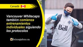 Vancouver Whitecaps vuelve al campo de juego e inicia entrenamientos individuales al aire libre