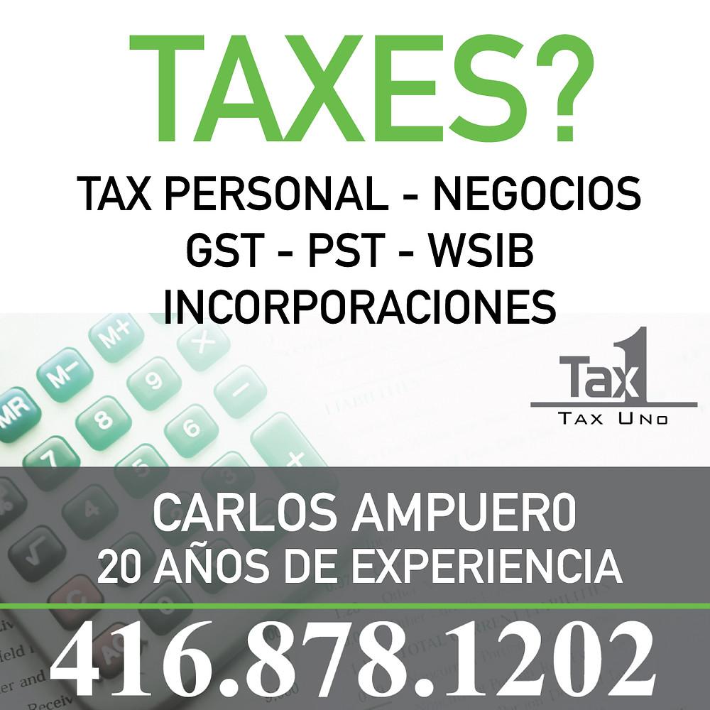 Entendemos que cada caso de impuestos es diferente y por eso te damos la asesoría que necesitas!