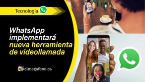 Whatsapp implementará nueva herramienta que permitirá realizar videollamadas hasta con 50 usuarios