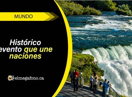 Hoy el tricolor colombiano iluminará las Cataratas del Niágara