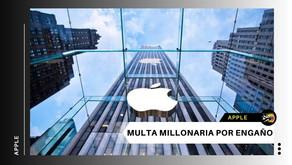 Apple deberá pagar millonaria multa por engaño al ralentizar algunos modelos antiguos de iPhone