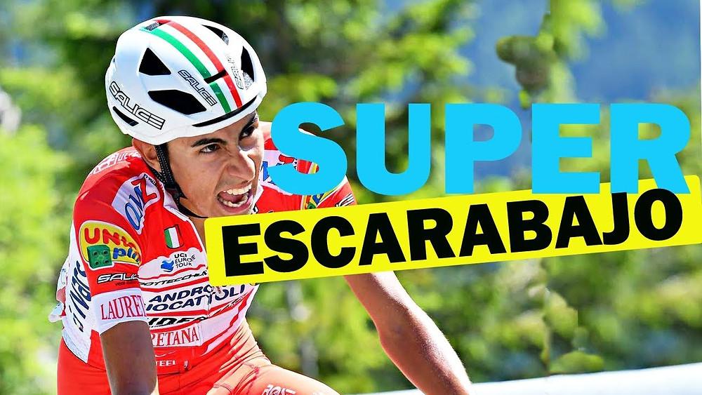 Iván Ramiro Sosa, ganador de la Vuelta a Burgos