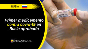Rusia anuncia primer antiviral efectivo contra COVID-19