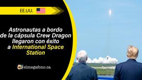 Así fue la histórica misión Demo-2 coordinada por la NASA y SpaceX