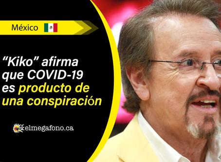 """Carlos Villagrán, conocido como """"kiko"""", asegura que COVID-19 es un engaño"""