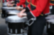 Marching drummer