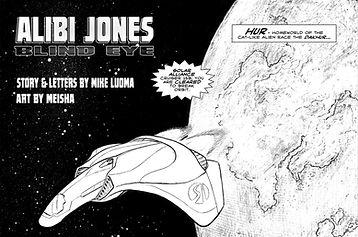 Alibi Jones: Blind Eye - Art by Meisha