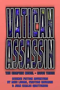 VATICAN ASSASSIN: The Graphic Novel - Issue Three