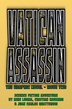 VATICAN ASSASSIN: The Graphic Novel - Issue Two
