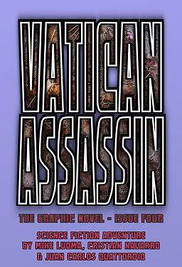 VATICAN ASSASSIN: The Graphic Novel - Issue Four