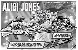 ALIBI JONES In Over His Head - Art by Juan Carlos Quattordio
