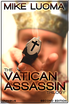 The VATICAN ASSASSIN Trilogy Omnibus - Cover by Jesse Lively