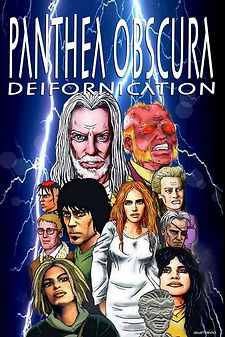 Panthea Obscura: Deifornication - Graphic Novel