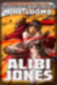 ALIBI JONES - Cover Art by Federico Guillen