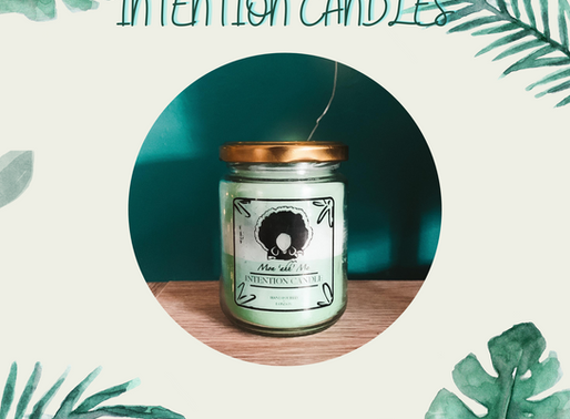 GIFTED: Intention Candle by Mon ahh Me