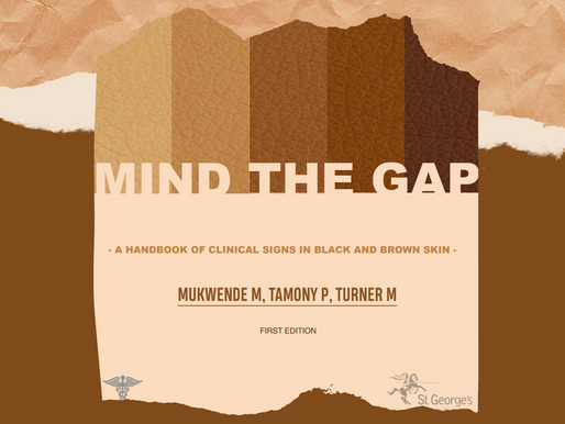 Mind the Gap - helping to end medical racism.