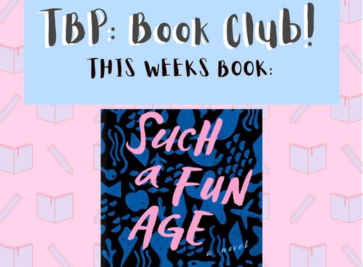 We're putting a Book Club together!