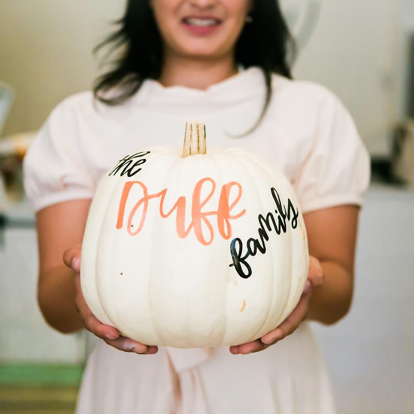 Custom Pumpkins by Joelle