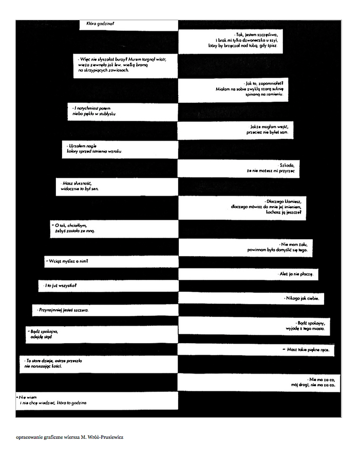 babel film wiersz poezja szymborska