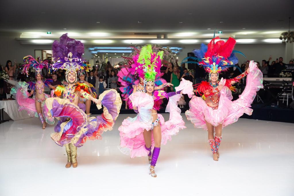 Melbourne Wedding EDC dancers