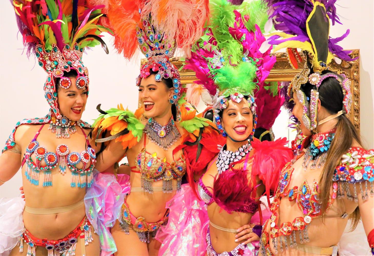 Brazilian Melboure EDC dancers