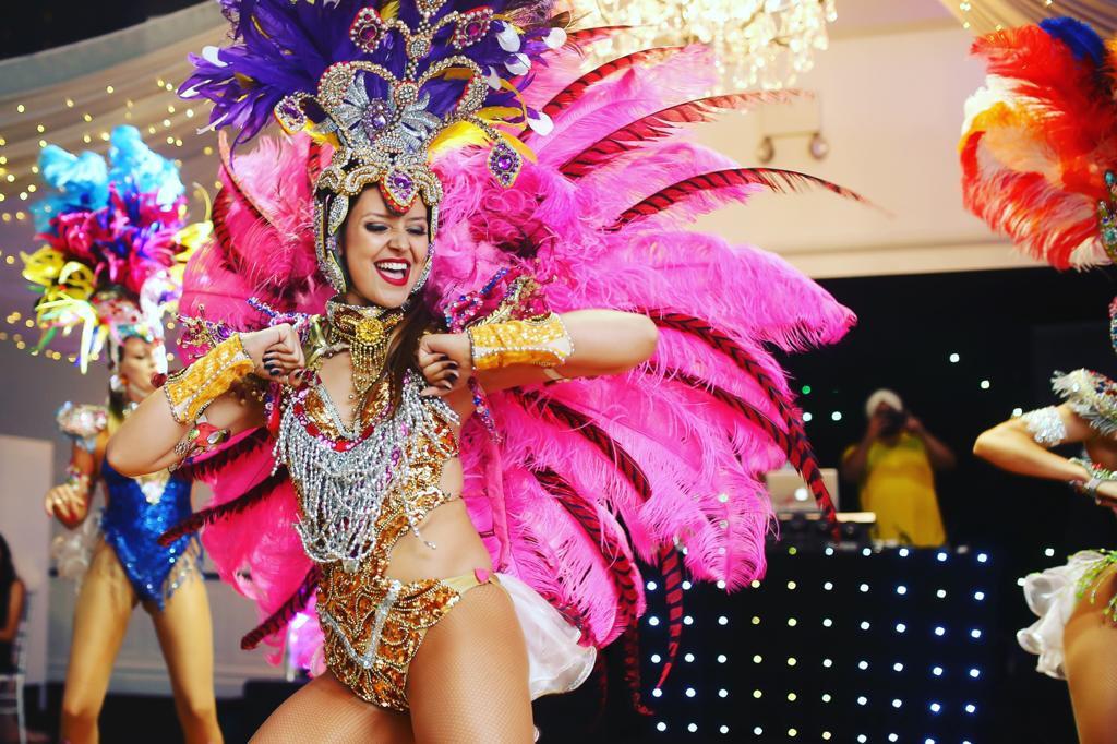 Melbourne Samba dancers