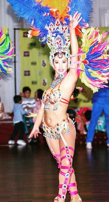 Melbourne EDC Samba dancers