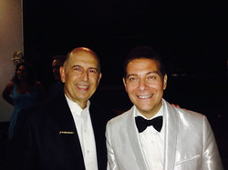 With Michael Feinstein