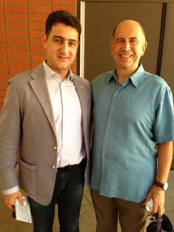 With Maestro Edward Topjian