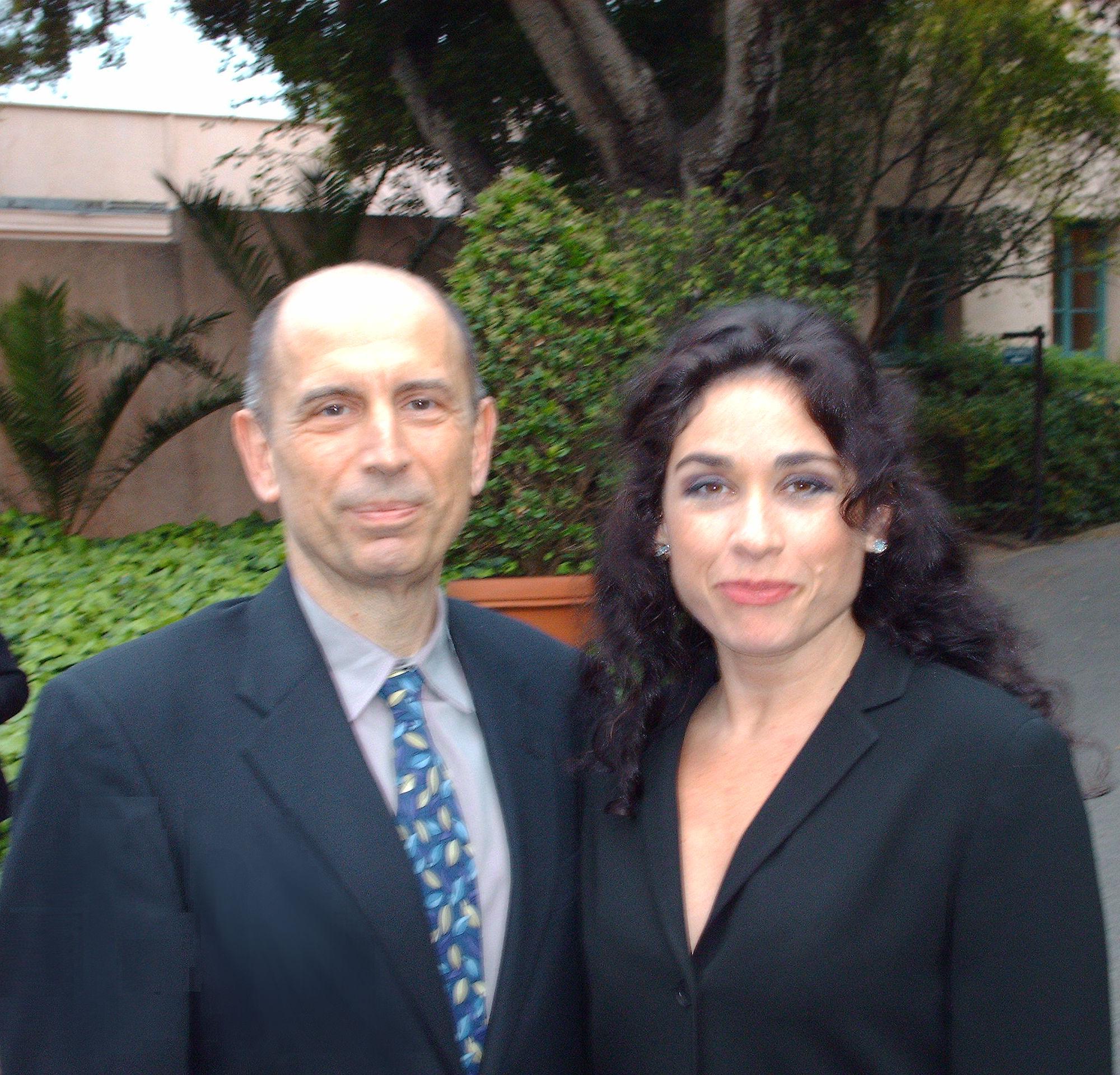 With Rinat Shaham