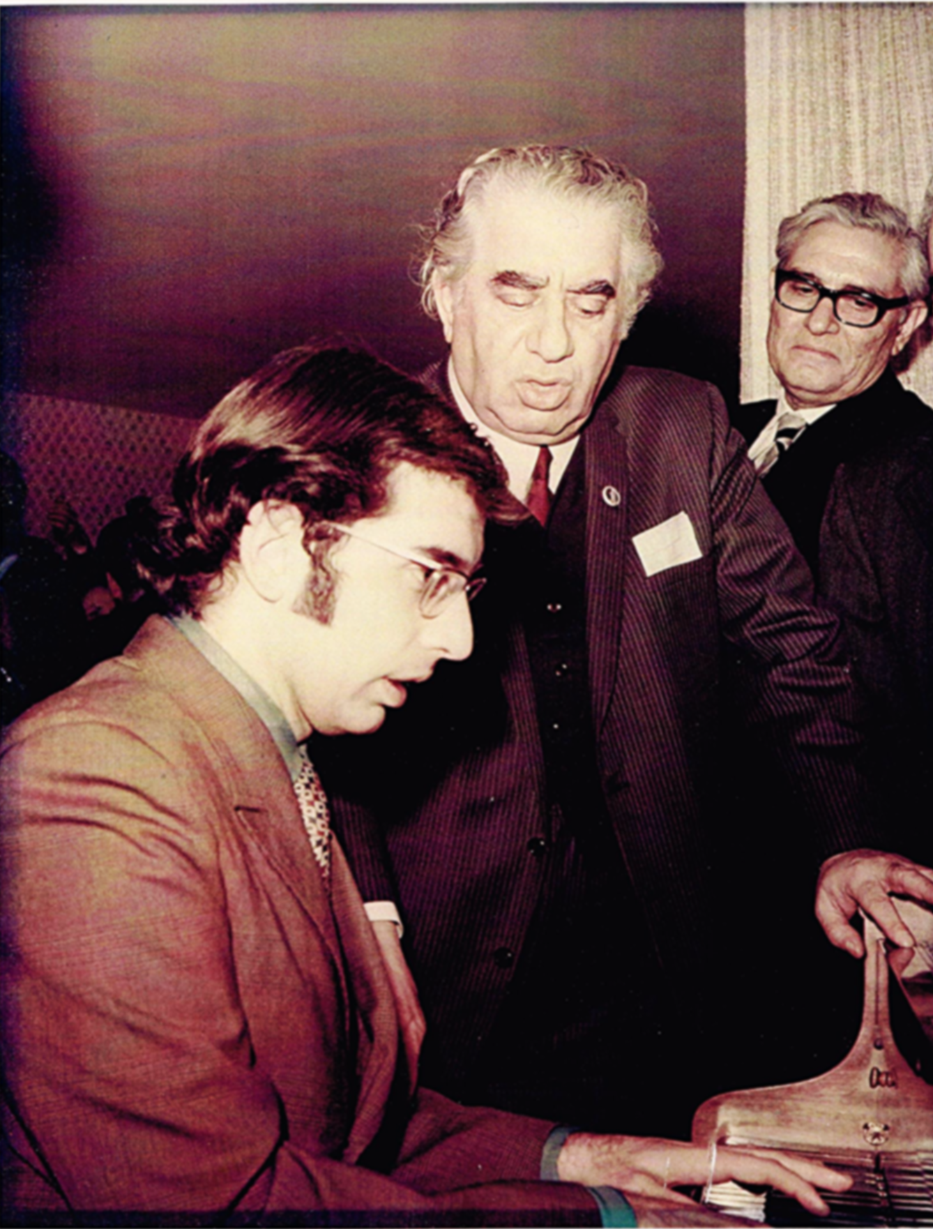 With Aram Khachaturian