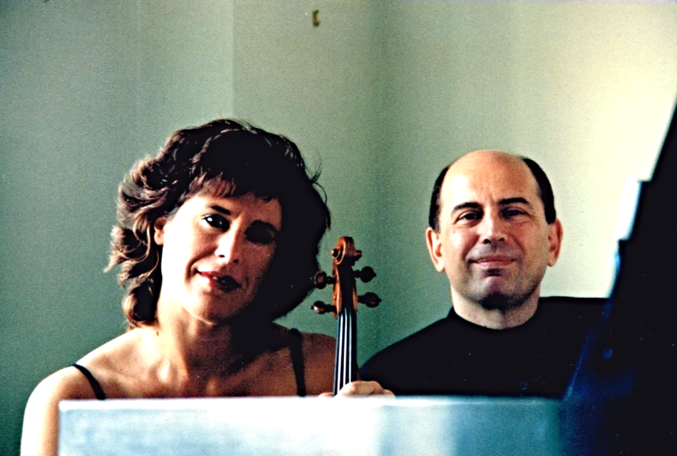 With Nina Bodnar