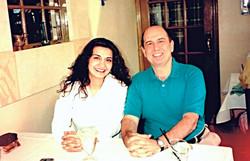 With Isabel Bayrakdarian