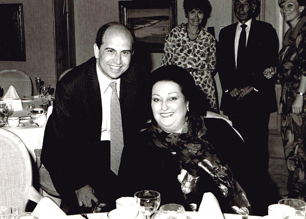w/Montserrat Caballe