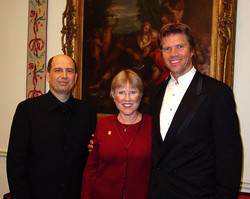With Rod Gilfry and Sheryl Nelson
