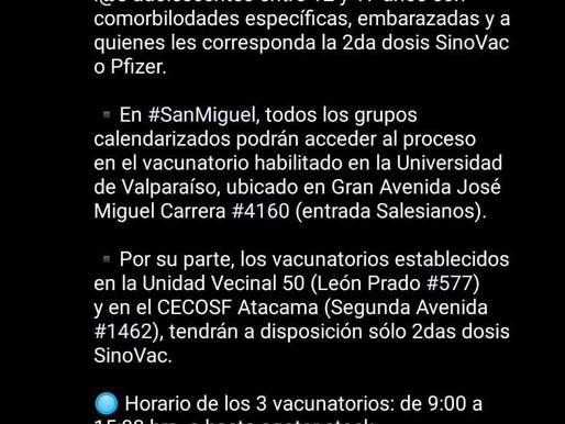 INFORMACIÓN VACUNATORIO COVID-19