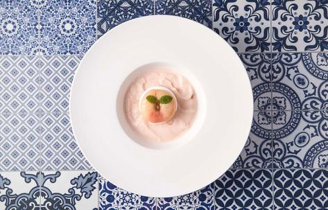 White Peach Bellini Sorbet