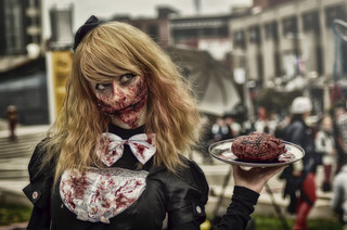 Original zombie maid cosplay  Photo and edit by jsspphotographie