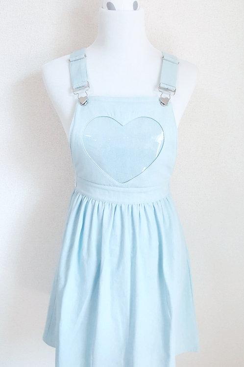 Denim ita overall skirt